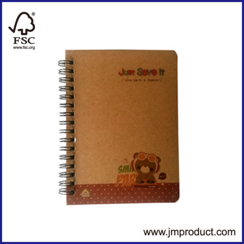 Eco-friendly double wires notebooks