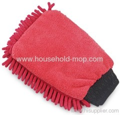 Microfiber Chenille Car Cleaning Mitt