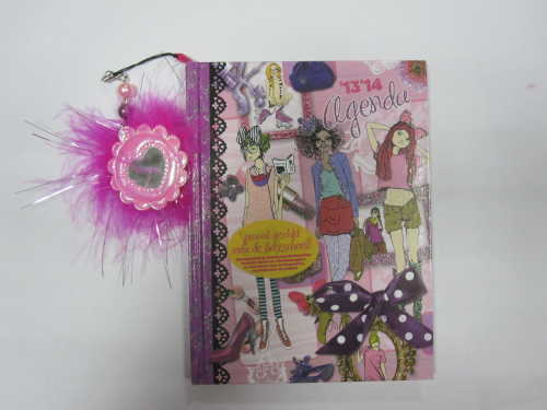 A5 hardbound agenda/planner/diary with cute hanging drops