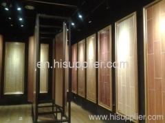 Non Slip Glazed Wooden Ceramic Floor/Wall Tiles