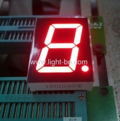 1.2-inch Red led display;1.2