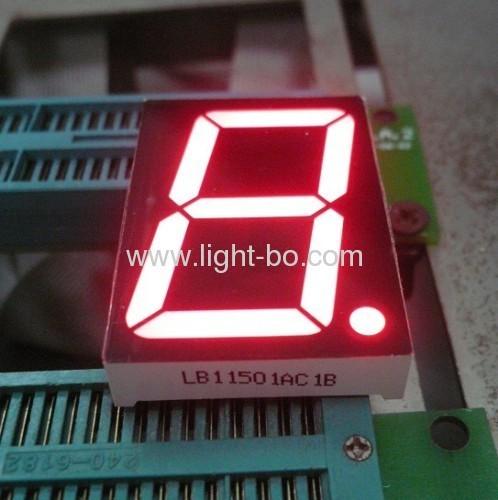 1.5-inch 7 segment display;1.5 inch seven segment led display