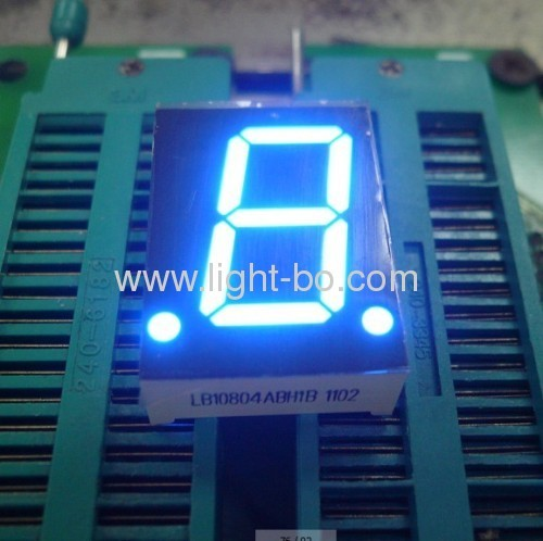 Super Bright Red 0.8single digit common anode 7 segment led display