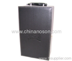 Luxury PU wine box