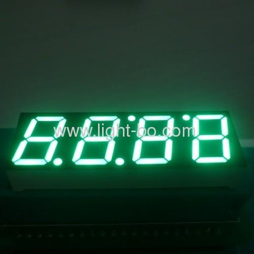 4-значный 0.56 дюйма Общий анод чисто зеленый 7-сегментный светодиодный дисплей для управления духовкой