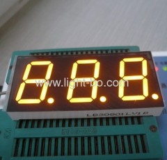 3 digit 0.8 inch 7 segment led display ;triple digit 0.8