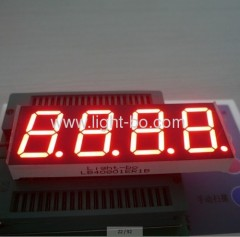 4 digit 0.8 inch 7 segment led display