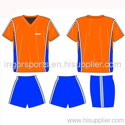 d94684cdd Polyester Sports Wear Soccer Uniforms Jerseys And Shorts For Men OEM ...