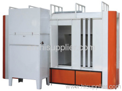 automatic powder paint booth