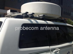 0.9m flat panel stable tracking on the move antenna