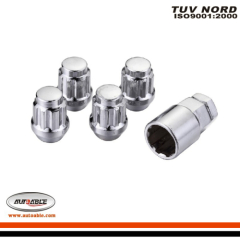 Conical seat lug nuts