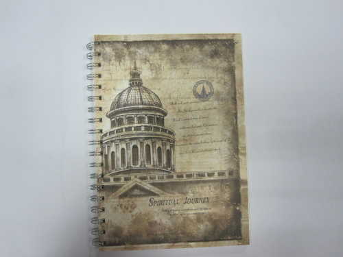 A5 single subject hardcover spiral notebook college ruled