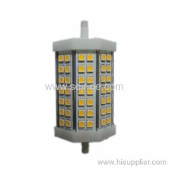 118mm 10w R7S led lamp to Replace 60W Halogen Lamp