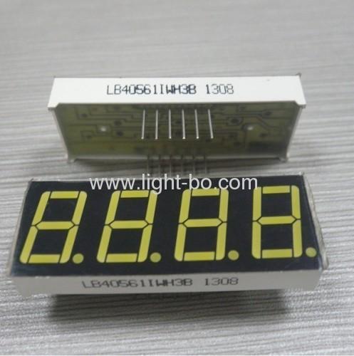 4-stellige 0,56 Zoll ultrahelle weiße Common Anode 7 Segment LED-Anzeige