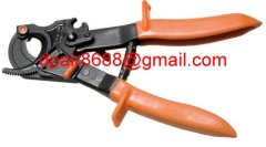 hand Cable cutter with ratchet system