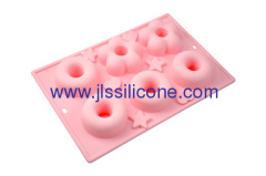 art craft silicone bakeware set cake baking mold