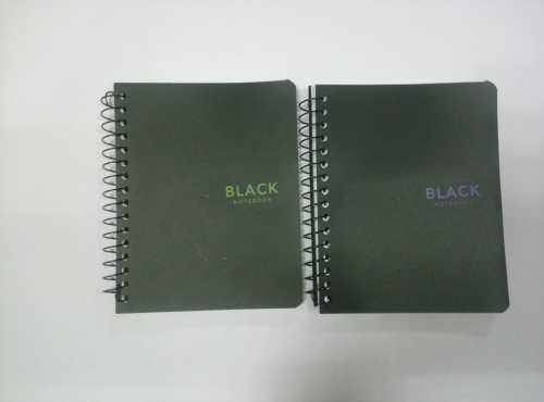 A6 4 subject PP cover spiral notebook/notepad