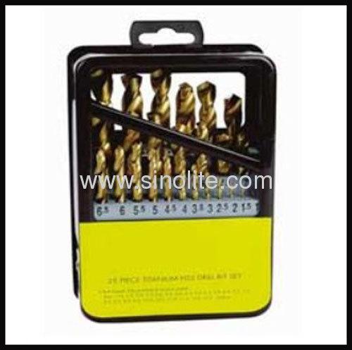 HSS Twist Drill 25pcs