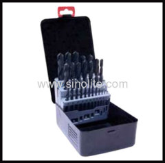 HSS Twist Drill 19pcs (1-10x0.5mm)