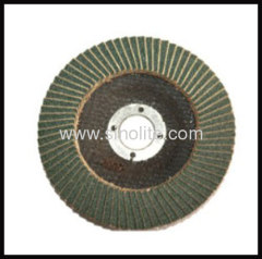 Flap disc fiberglass backing ziconia oxide material: ZA Grit Size:40-120#