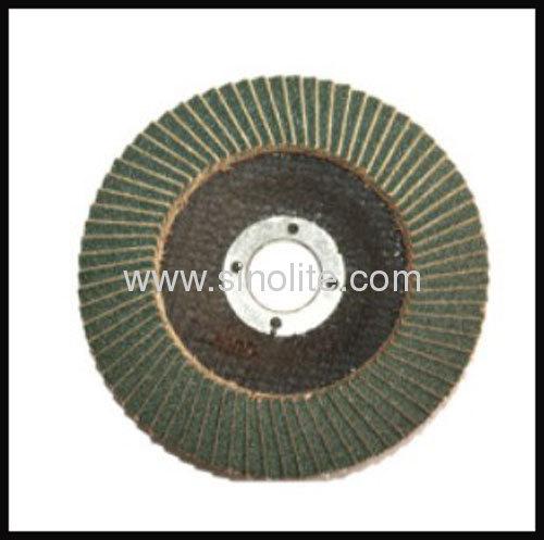 Flap disc fiberglass backing ziconia oxide