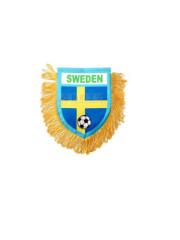 Sweden Mini pennant banner