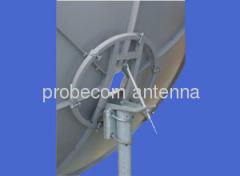 C band 2.1m Rx only antenna