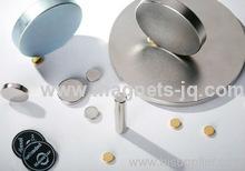 Rare earth Neodymium /NdFeB Disc magnets D15x1.2 Grade N35 with Zn coating