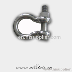Dipped Galvanized forged shackle