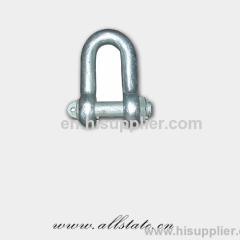 Precision bolt chain shackle