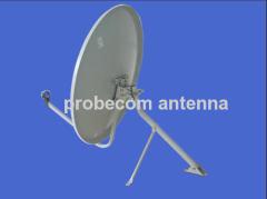 0.75m Ku band rx only antena