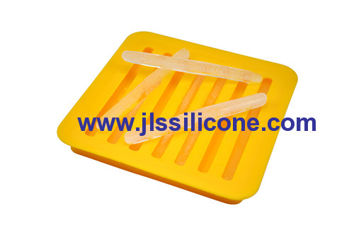 silicone ice cube trays with 7 stick shaped
