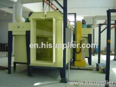 automatic powder coat booth