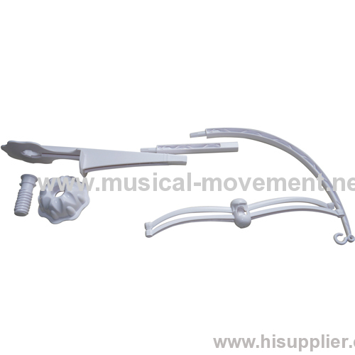 Eur Safe Infant Crib Stand Arm Baby Musical Mobile Kit