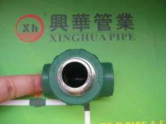 2013 hot sale PPRC Fittings plumbing material Male Tee