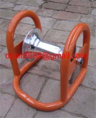 Cable Roller With Ground Plate& Plug-In Hinges