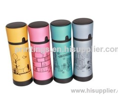 Heat transfer film for keep water warm cup