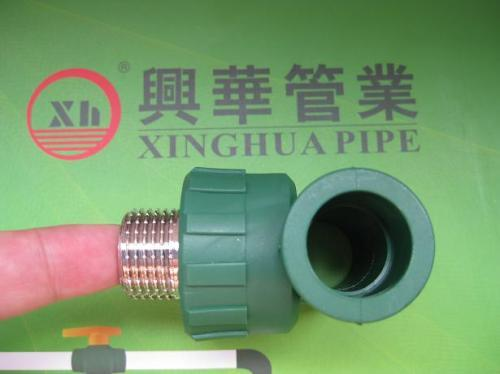 Male Elbow 90° fittings and pipe plumbing material