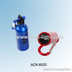 Sports Kettle Design 3 in 1 Function Mini LED Keychain Light