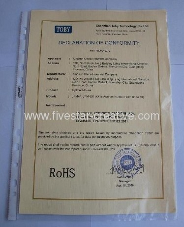 Company Certifications