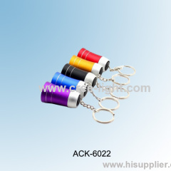 Loudspeaker shape 3LED Colorful keychain light ACK-6022
