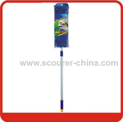 Chenille Flat Mop with Telescopic Handle