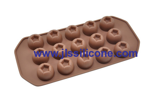 15 cavity silicone imperial chocolate candy mold