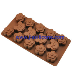 14 cavity Craft designled silicone chocolate candy mold