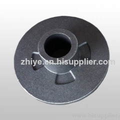 connection accessory circle shape ductile iron casting