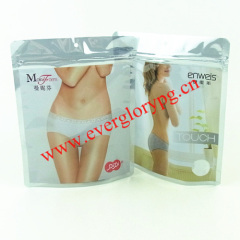 antistatic ziplock stand up packaging bags for underwear