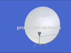 Ku band TVRO antenna