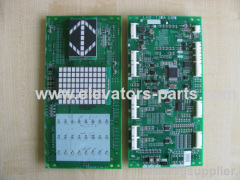 PCB Display Board For Mitsubishi Elevator parts LHD730AGS20