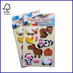 Promotional Plywood Sticker for Children