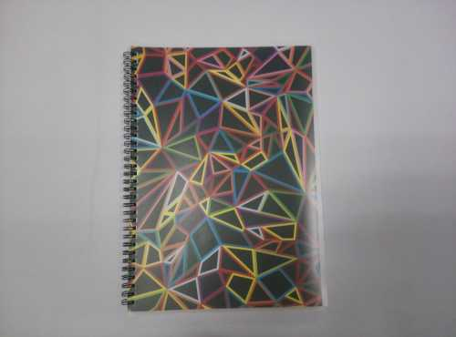 A4 PP cover spiral notebook college ruled